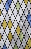 γεωμετρικό γυαλί χρώματος της εκκλησίας στοκ φωτογραφία με δικαίωμα ελεύθερης χρήσης