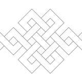 γεωμετρικό διάνυσμα δια&k Στοκ Εικόνες