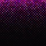 Γεωμετρικό διαγώνιο τετραγωνικό υπόβαθρο σχεδίων με τα τετράγωνα στα ποικίλα μεγέθη Στοκ φωτογραφία με δικαίωμα ελεύθερης χρήσης
