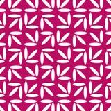 Γεωμετρικό διανυσματικό σχέδιο ρόδινο λευκό ανασκόπησης απεικόνιση αποθεμάτων
