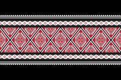 Γεωμετρικό εθνικό σχέδιο παραδοσιακό στοκ εικόνα με δικαίωμα ελεύθερης χρήσης