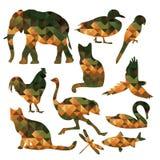 Γεωμετρικό ζώο Στοκ φωτογραφία με δικαίωμα ελεύθερης χρήσης