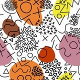 Γεωμετρικό διανυσματικό ύφος της Μέμφιδας σχεδίων Στοκ φωτογραφία με δικαίωμα ελεύθερης χρήσης