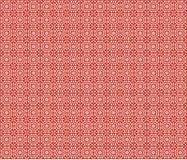 γεωμετρικό κόκκινο ανασ&k Στοκ φωτογραφία με δικαίωμα ελεύθερης χρήσης