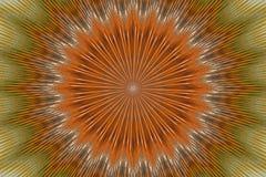 Γεωμετρικό λουλούδι σχεδίων διακοσμήσεων floral αφηρημένος υπνωτικός διανυσματική απεικόνιση