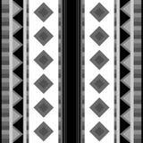 Γεωμετρικό μαύρος-άσπρο υπόβαθρο ελεύθερη απεικόνιση δικαιώματος
