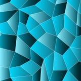 Γεωμετρικό μπλε υπόβαθρο μωσαϊκών επίσης corel σύρετε το διάνυσμα απεικόνισης ελεύθερη απεικόνιση δικαιώματος