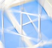 Γεωμετρικό μπλε αφηρημένο υπόβαθρο με τα τρίγωνα και τις γραμμές Στοκ εικόνες με δικαίωμα ελεύθερης χρήσης