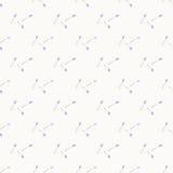 Γεωμετρικό μπλε γκρίζο απλό άνευ ραφής αφηρημένο σχέδιο λουλουδιών Στοκ Εικόνες