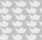 γεωμετρικό πρότυπο άνευ ραφής Αφηρημένο διανυσματικό κατασκευασμένο υπόβαθρο Στοκ Φωτογραφία