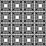 γεωμετρικό πρότυπο άνευ ραφής επίσης corel σύρετε το διάνυσμα απεικόνισης Στοκ Φωτογραφία