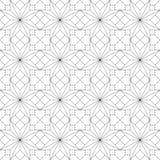 γεωμετρικό πρότυπο άνευ ραφής επίσης corel σύρετε το διάνυσμα απεικόνισης Στοκ εικόνα με δικαίωμα ελεύθερης χρήσης
