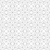 γεωμετρικό πρότυπο άνευ ραφής επίσης corel σύρετε το διάνυσμα απεικόνισης Στοκ φωτογραφίες με δικαίωμα ελεύθερης χρήσης