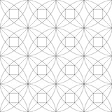 γεωμετρικό πρότυπο άνευ ραφής επίσης corel σύρετε το διάνυσμα απεικόνισης Στοκ εικόνες με δικαίωμα ελεύθερης χρήσης