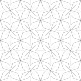 γεωμετρικό πρότυπο άνευ ραφής επίσης corel σύρετε το διάνυσμα απεικόνισης Στοκ φωτογραφία με δικαίωμα ελεύθερης χρήσης
