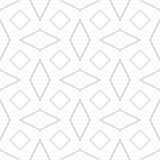 γεωμετρικό πρότυπο άνευ ραφής επίσης corel σύρετε το διάνυσμα απεικόνισης Στοκ Εικόνες