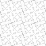 γεωμετρικό πρότυπο άνευ ραφής επίσης corel σύρετε το διάνυσμα απεικόνισης Στοκ Εικόνα