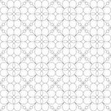 γεωμετρικό πρότυπο άνευ ραφής επίσης corel σύρετε το διάνυσμα απεικόνισης Στοκ Φωτογραφίες