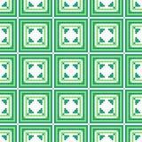 γεωμετρικό πρότυπο άνευ ραφής Στοκ Εικόνα