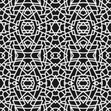 γεωμετρικό πρότυπο άνευ ραφής Στοκ Φωτογραφία