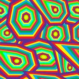 γεωμετρικό πρότυπο άνευ ρ&a Στοκ εικόνα με δικαίωμα ελεύθερης χρήσης