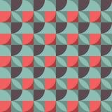 γεωμετρικό πρότυπο αφηρημένο πρότυπο άνευ ραφής Στοκ Φωτογραφίες