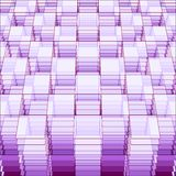 Γεωμετρικό πρότυπο προοπτικής Στοκ εικόνα με δικαίωμα ελεύθερης χρήσης