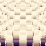 Γεωμετρικό πρότυπο προοπτικής Στοκ εικόνες με δικαίωμα ελεύθερης χρήσης
