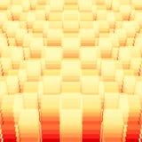 Γεωμετρικό πρότυπο προοπτικής Στοκ φωτογραφία με δικαίωμα ελεύθερης χρήσης