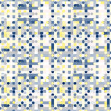 Γεωμετρικό πρότυπο χρώματος Στοκ εικόνες με δικαίωμα ελεύθερης χρήσης