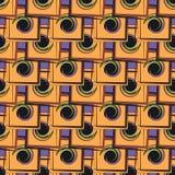 γεωμετρικό πρότυπο χρώματ&om Στοκ εικόνες με δικαίωμα ελεύθερης χρήσης
