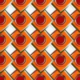 γεωμετρικό πρότυπο χρώματ&om Στοκ φωτογραφία με δικαίωμα ελεύθερης χρήσης