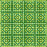 γεωμετρικό πρότυπο Στοκ Εικόνα