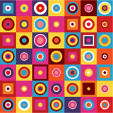 Γεωμετρικό σχέδιο - αφηρημένο υπόβαθρο Στοκ Φωτογραφίες
