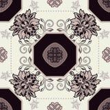 Γεωμετρικό σχέδιο κεραμιδιών Στοκ εικόνες με δικαίωμα ελεύθερης χρήσης
