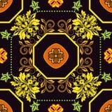 Γεωμετρικό σχέδιο κεραμιδιών Στοκ Εικόνες