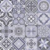 Γεωμετρικό σχέδιο κεραμιδιών Στοκ Φωτογραφία