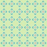 Γεωμετρικό σχέδιο με τα rhombuses και τα τετράγωνα Στοκ Φωτογραφίες