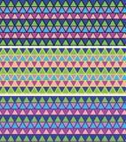 Γεωμετρικό σχέδιο μωσαϊκών πρότυπο μωσαϊκών άνευ ραφής Κεραμικό κεραμίδι Στοκ Εικόνες
