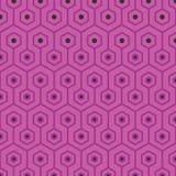 Γεωμετρικό σχέδιο πολυγώνων Στοκ φωτογραφία με δικαίωμα ελεύθερης χρήσης