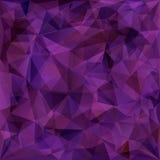 Γεωμετρικό σχέδιο, υπόβαθρο τριγώνων Στοκ Φωτογραφίες