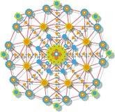 Γεωμετρικό σχέδιο Στοκ Φωτογραφία