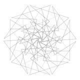 Γεωμετρικό σύνολο για το σχέδιο διανυσματικό EPS10 δώρων και διακοπών Στοκ εικόνα με δικαίωμα ελεύθερης χρήσης