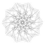 Γεωμετρικό σύνολο για το σχέδιο διανυσματικό EPS10 δώρων και διακοπών Στοκ Εικόνα