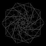 Γεωμετρικό σύνολο για το σχέδιο διανυσματικό EPS10 δώρων και διακοπών Στοκ Φωτογραφίες
