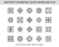 Γεωμετρικό σύνολο μορφής Στοκ Φωτογραφία
