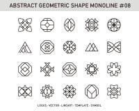 Γεωμετρικό σύνολο στοιχείων Στοκ φωτογραφίες με δικαίωμα ελεύθερης χρήσης