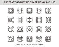 Γεωμετρικό σύνολο Στοκ φωτογραφία με δικαίωμα ελεύθερης χρήσης