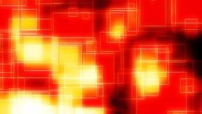 Γεωμετρικό τετράγωνο πυρκαγιάς φιλμ μικρού μήκους