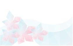 Γεωμετρικό υπόβαθρο λουλουδιών ελεύθερη απεικόνιση δικαιώματος